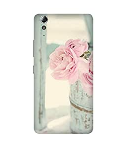 Pink Rose Lenovo A3900 Case