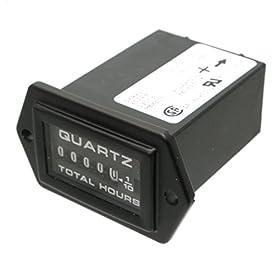 Teleflex Hobbs Hour Meter 12 volt to 24 vdc Quartz 56994/85024