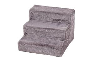karlie escalier pour chien gris 43x41x29 cm animalerie. Black Bedroom Furniture Sets. Home Design Ideas