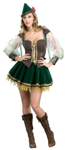 Sexy Super Deluxe Robin Hood Costume - Womens 14-16