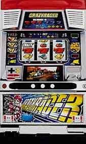 【メーシー】クレイジーレーサー 【中古パチスロ実機/フルセット】家庭用電源OK!