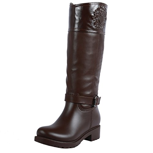Coshare Women's Fashion Assorted Mid Calf Snow & Rain Boots (Stylish Rain Boots compare prices)
