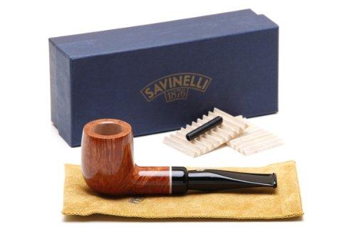 Savinelli Gaius Liscia 101 Tobacco Pipe