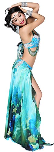 Abby Women's FF100 Sexy Noble India Belly Oriental Dance Practice Show Costume