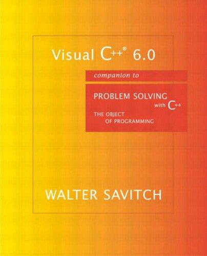 Visual C++ 6.0 Companion, Finished Good