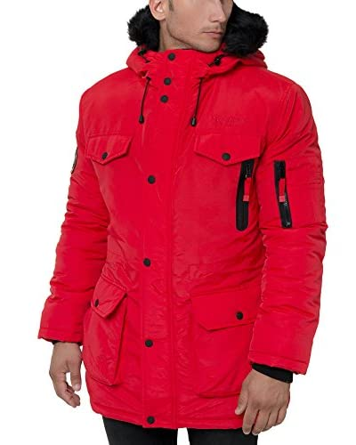 Geographical Norway Cappotto Coquin [Rosso]