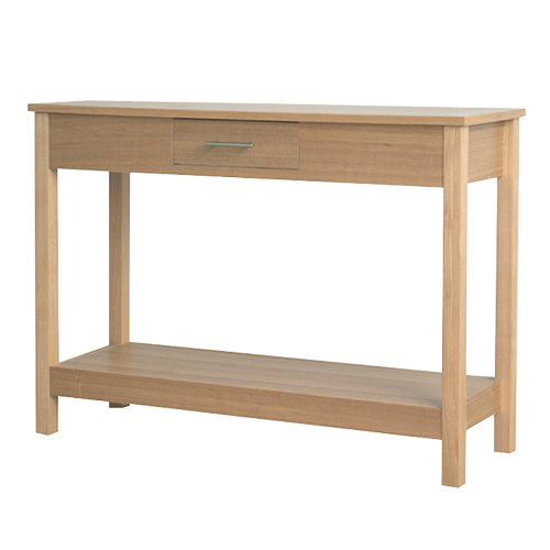 Cheap DonnieAnn Oakridge Natural Hall Console/Sofa Table (B004FPREQO)