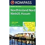 Nordfriesland Nord, Niebüll, Husum: 1:50.000, Wanderkarte mit Kurzführer und Rad- und Reitwegen. GPS-genau