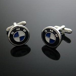 【クリックで詳細表示】カフス専門店 CUFF BMW ロゴ カフス カフスボタン カフリンクス n00313: ジュエリー通販