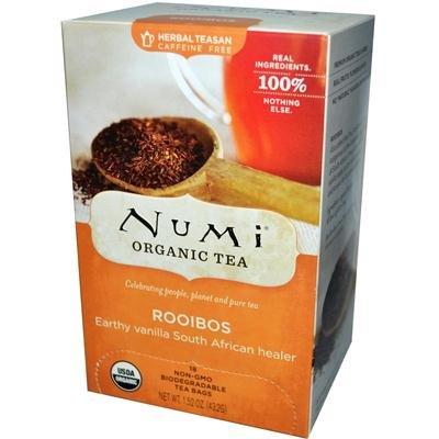 Numi Organic Tea Rooibos, Herbal Teasan - 18 Ct, 12 Pack