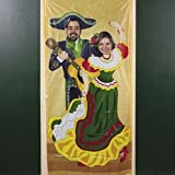3 FT X 6 FT Fiesta Couple Photo Door Banner