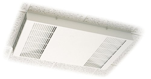 Honeywell F111A1063W-3S Commercial Ceiling-Mount HEPA-Media Air Cleaner, White
