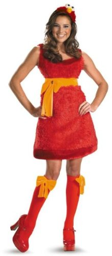 Morris Costumes Elmo Adult Sassy Female 8-10