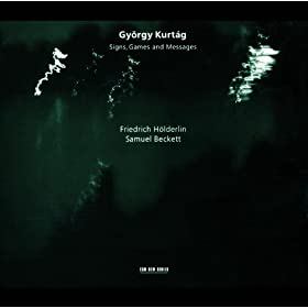 Kurt�g: ...pas � pas - nulle part... for Baritone Solo, String Trio and Percussion, Op.36 - 14. fous...