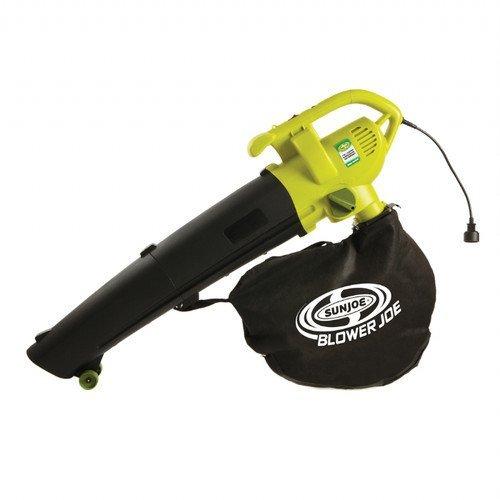Sun Joe SBJ604E-RM Factory Refurbished 3-in-1 Electric Blower/Vacuum/Leaf Shredder (Refurbished Snow Blower compare prices)