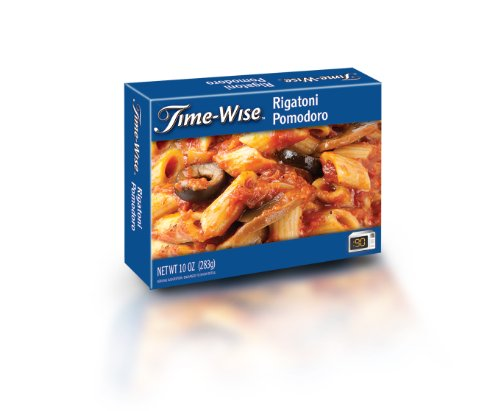 Time Wise Rigatoni Pomodoro, 10 Ounce (Pack of 12)