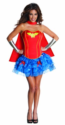 DC Comics Secret Wishes Wonder Woman Corset And Tutu Costume