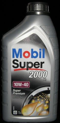 Mobil Super 2000 X1 10W-40 Motoröl 10W40 1 Liter