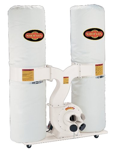 SHOP FOX W1687 3-Horsepower Dust Collector