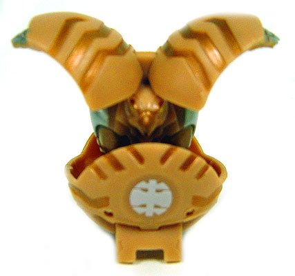 Bakugan Battle Brawlers Game Single LOOSE Subterra Falconoid (Brown) 550 G - 1
