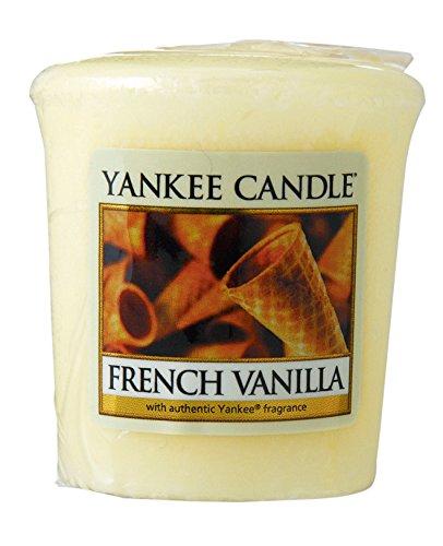 ヤンキーキャンドル サンプラー お試しサイズ フレンチバニラ 燃焼時間約15時間 YANKEECANDLE アメリカ製
