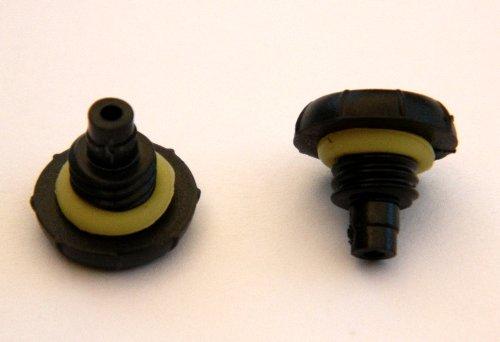 2 Headphone Jack Cover Plug Screw For Iphone 4/4S For Lifeproof/ Oceanproof/Waterproof Cases