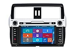 See Crusade Car DVD Player for Toyota Prado 150 High Level 2014- Support 1080p,iphone 5s Usb/sd/gps/fm/am Radio 8 Inch Hd Touch Screen Stereo Navigation System+ Reverse Car Rear Camara + Free Map Details