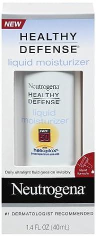 Neutrogena Healthy Defense Daily Liquid Moisturizer with Helioplex, 1.4 Ounces