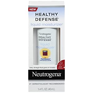Neutrogena Healthy Defense Daily Moisturizer with Helioplex, SPF 50, 1.4 Ounces