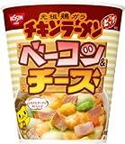 日清チキンラーメン ビッグカップ ベーコン&チーズ 1ケース(12食入)