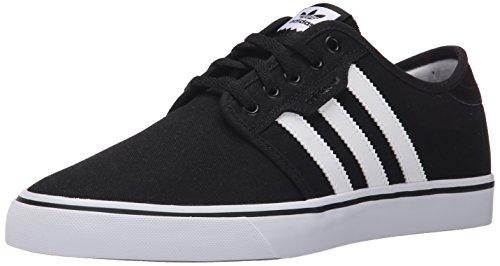 Adidas Performance Seeley Skate scarpe, nero / bianco / gomma, 10 M Us