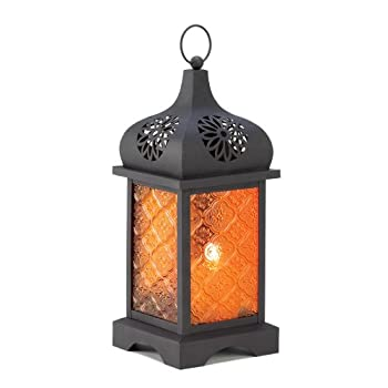 Gifts & Decor Square Moroccan Candle Lantern