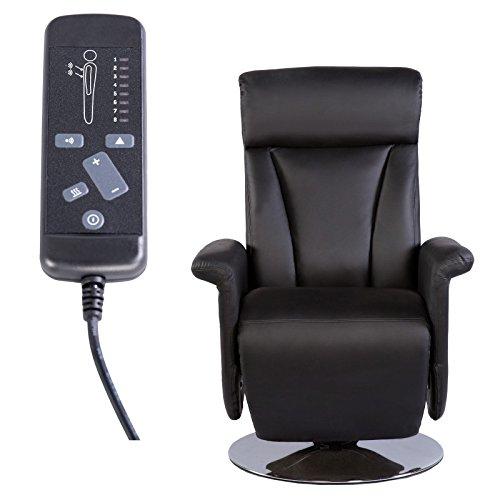 TV-Massage-Relaxsessel-elektrische-Rckenheizung-Kunstleder-schwarz