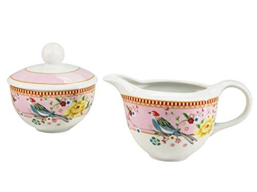 Creatable Service de, Porcelaine, multicolore, Lot de 3