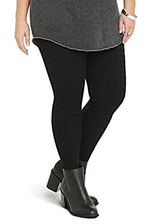 Plus size spandex leggings - results from brands Mukluks, Pacificplex, New Media, products like Gabrialla Massaging Anti-Microbial Milk Fiber Leggings - G LM M, Plus Size Skyes The Limit Solid Leggings 3X, Onyx,