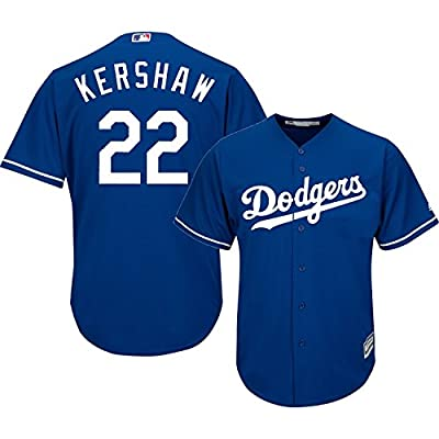 Clayton Kershaw Los Angeles Dodgers #22 MLB Youth Cool Base Alternate Jersey Blue