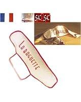 Sac à Baguette - Protection - Anse de transport - 73 X 19 cm. 100 % coton - Fab. France