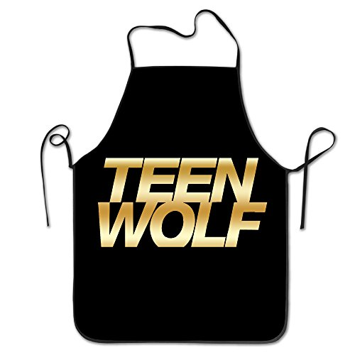 [Teen Wolf Gold Logo Kitchen Baking Apron] (Toddler Gardener Costume)