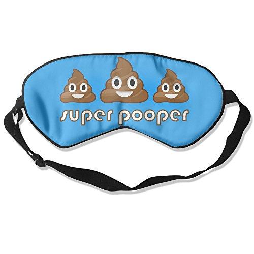 poop-emoji-super-pooper-eye-mask-cover-shade-blindfold-sleeping-mask