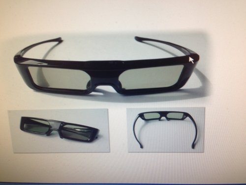 AE Select PANASONIC Harvested Part: TY-ER3D5MA Active 3D Glasses OEM