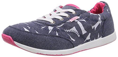 Roxy ZUMA II - EU J SHOE DNM, Low-Top Sneaker donna, Blu (Blau (DENIM)), 38