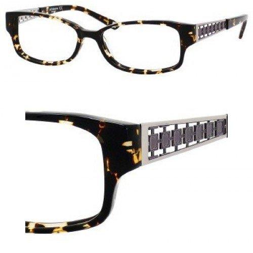 Liz Claiborne 369 Eyeglasses (01L5) Havana Spotted,