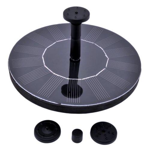 Patuoxun® Solar Panel Power Water Floating Pump Fountain Pool Garden Plants Watering Kit