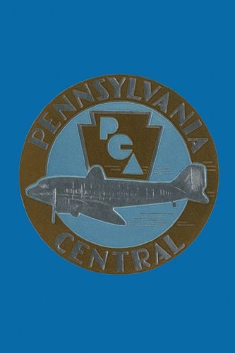 Pennsylvania Central Airways, 20X30 Canvas Giclée, Gallery Wrap