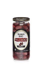 Palermo Kalamata Olives, 17 Ounce (Pack of 12)