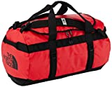 The North Face Base Camp Duffel Travel Bag - Red/Black, Large