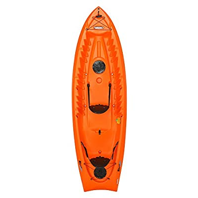 "90537 Lifetime Kokanee Sit-On-Top Kayak, Orange, 10'6"" by Lifetime OUTDOORS"