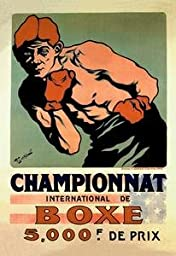 30 x 20 Stretched Canvas Poster International Boxing Championship
