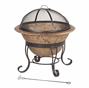 DeckMate Kay Home Product's Soleil Steel Fire