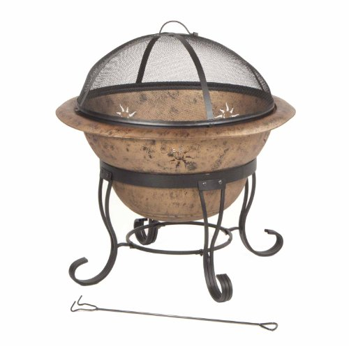 DeckMate-Kay-Home-Products-Soleil-Steel-Fire-Bowl